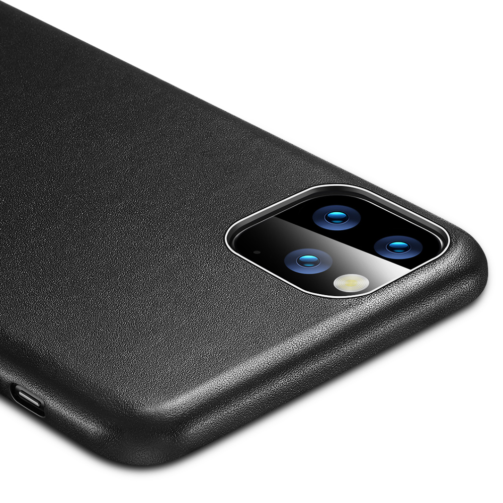 Hf7f8bd4d2abe4270a74b1f918bfe72c4m ESR Case for iPhone 11 Pro Max Leather Case Cover Brand Black Green Genuine Leather Protective Cover for iPhone 11 2019 11pro
