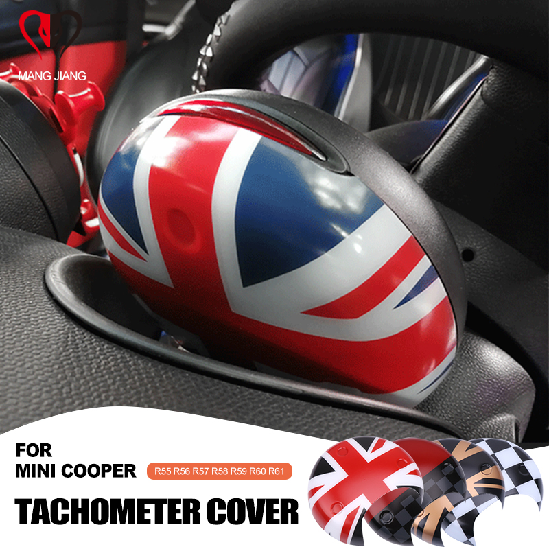 Union Jack Car Tachometer Cover Cap Sticker For Mini Cooper R55 R56 R60 R61 R58 R59 Countryman Clubman Interior Stickers Case
