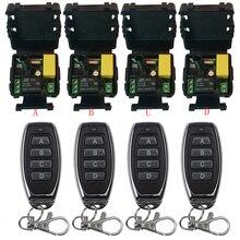 Controle remoto sem fio universal ac220v 1ch rf relé receptor e transmissor remoto garagem/portão/motor/luz/eletrodomésticos