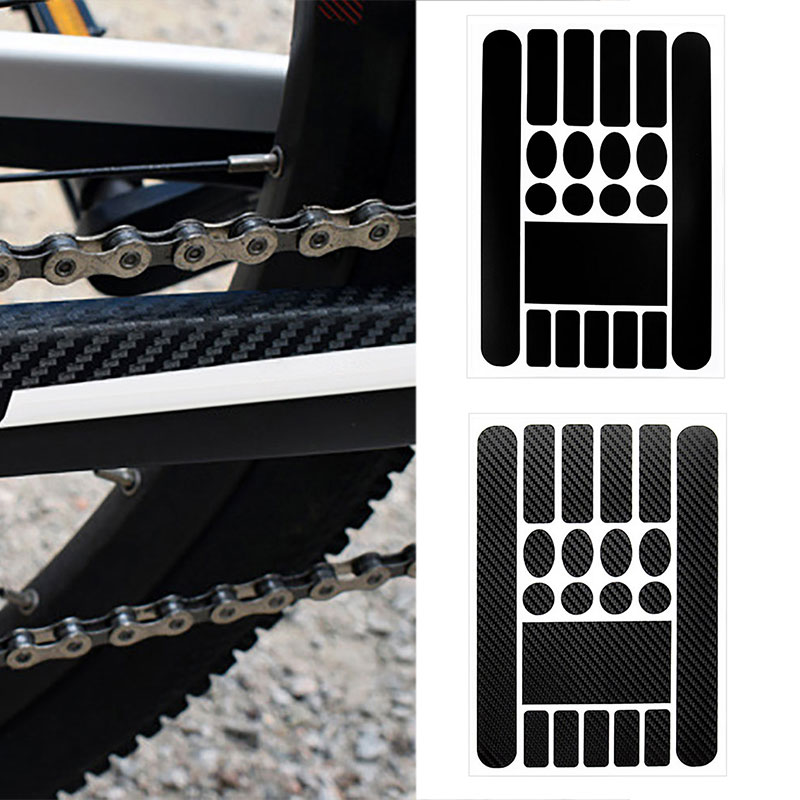Mountain Bike Bicycle Protective Sticker Film Chain Frame Safety Tape Protector