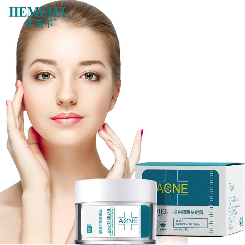 Hemeiel Herbal Anti Acne Cream Oily Skin Acne Stains Moisturizing