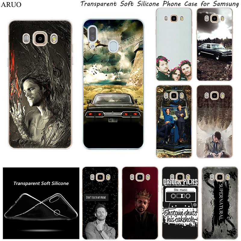 Phone case For <font><b>Samsung</b></font> J8 J7 <font><b>J6</b></font> J5 Prime 2017 J4 <font><b>Plus</b></font> J3 <font><b>2018</b></font> J2 Core Supernatural Soft <font><b>Silicone</b></font> TPU Cover <font><b>Coque</b></font> Fundas case image