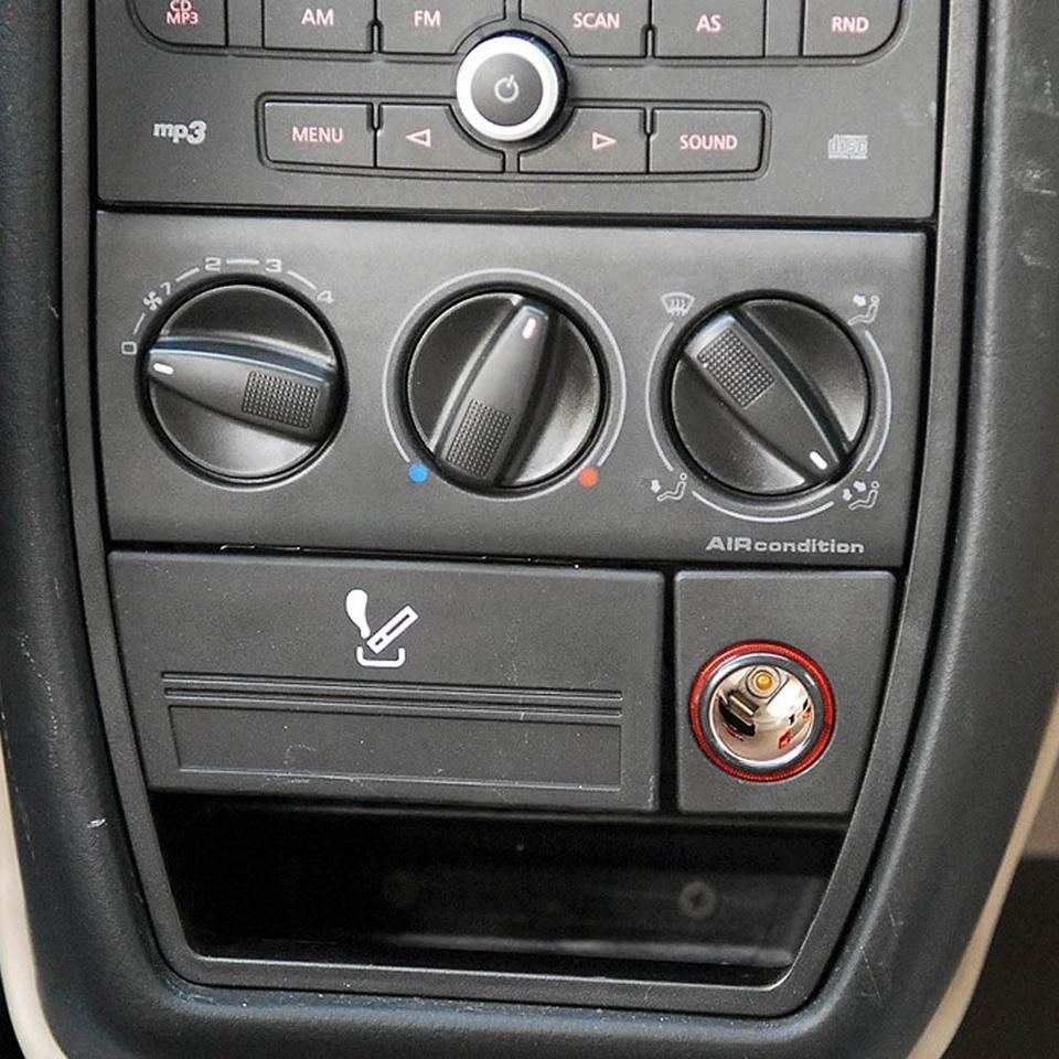 Elerose Control del interruptor del calentador del aire acondicionado del coche 1H0 820 045D