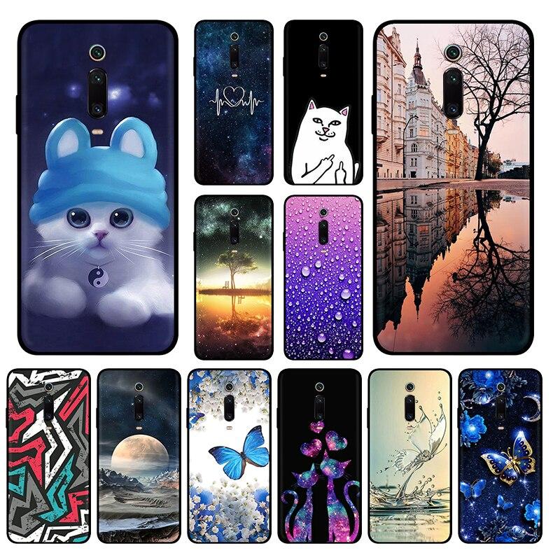 FANATU Soft TPU For Xiaomi Redmi K20 Pro Case Silicon Back Phone Case Xiomi Mi 9T Pro K 20 Cover On Redmi K20 Pro Capa Protector(China)