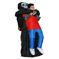 Creative Halloween Inflatable Costume Funny Ghost Blow Up Costume Party Costume For Kids Halloween Party Dress Up Supplies