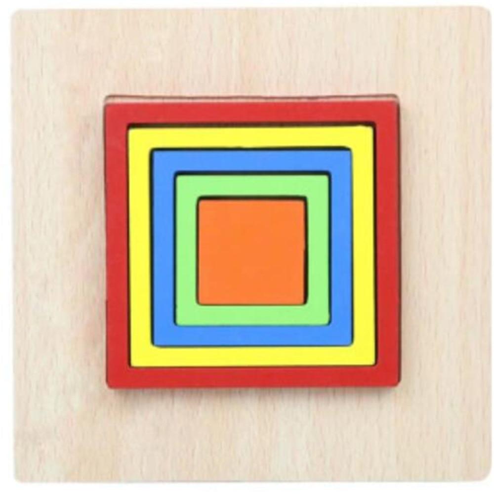 Montessori Cartoon Animal Educational Wooden Beaded Geometry Digital Clock Puzzles Gadgets Matching Clock Toy For Children 21