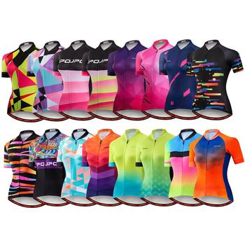 2020 Cycling Jersey Women Short Sleeve Racing MTB Bike Jersey Pro Cycling Shirts Top Maillot quick dry Bicycle Clothing Ciclismo недорого