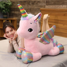 New Angel Pegasus Doll Plush Toy Unicorn Beast Toy Children Toy Girl Gift Home Decoration(China)