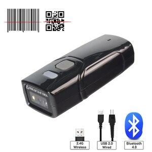 Holyhah T700 Mini Barcode Scanner Blueto