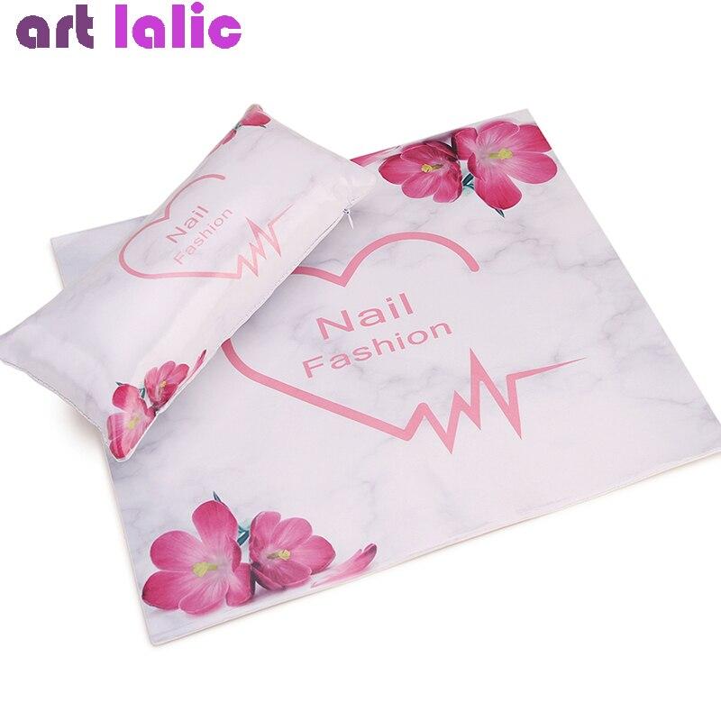 Pillow-Holder Salon-Tools Hand-Rest-Cushion Armrests-Mat Manicure Nails Stylish Pad Soft-Sponge