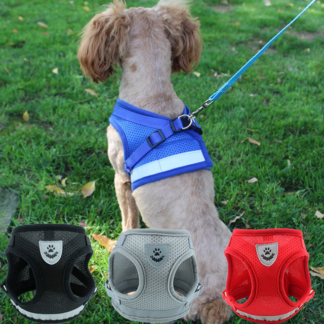 Reflective Puppy Harness 5