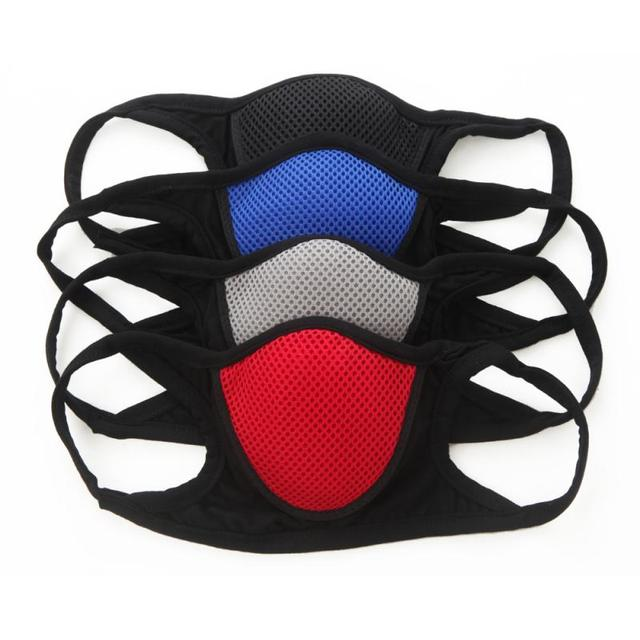 Anti Pollution PM2.5 Mask Washable Reusable Muffle Multi-purpose Face Mouth Mask Flu Dust Exhaust Filter Respirator Masks