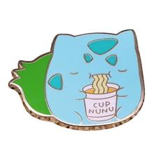 Милая лапша шпилька с подвеской «Кот» Забавный подарок для детей