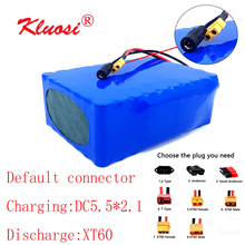 KLUOSI 10S7P 36V 17.5Ah 18A 36V Battery 1000W 42V Lithium Battery Pack with 30A BMS for Ebike Electric Car Bicycle Motor Scooter