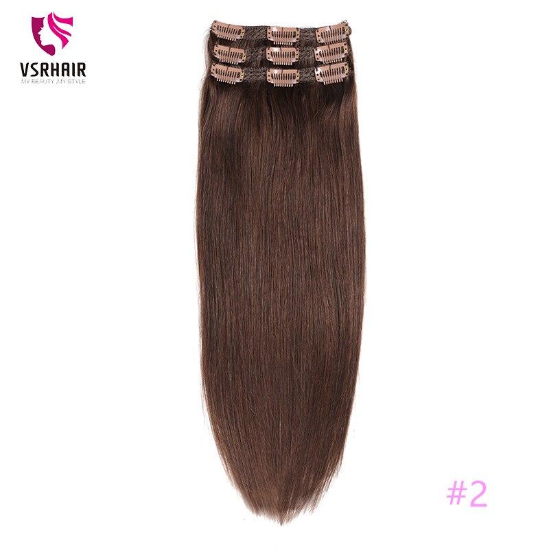 Vsr cabelo reto humano fácil fazer estilo