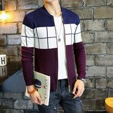 Дешевые оптовые продажи осенний зимний мужской модный Повседневный Теплый красивый свитер X9-171019Z