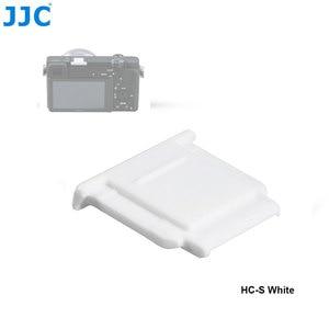 Image 5 - JJC Камера Горячий башмак Обложка черный, белый цвет протектор Кепки для Sony A77II A3000 A6000 A6300 A6500 A99 II A7 заменить Sony FA SHC1M