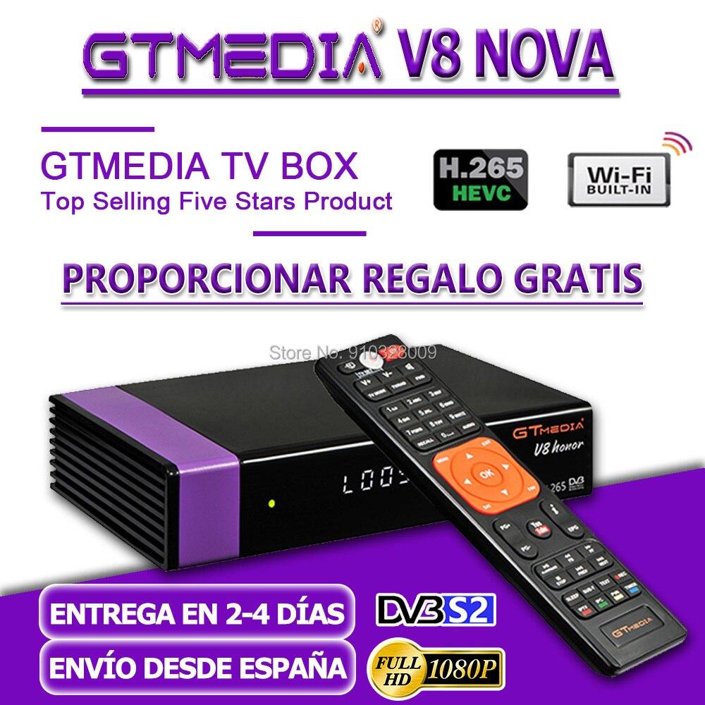 Original GTmedia V8 Ehre Satellite Receiver 1080P GT Media V8 Ehre Gebaut in Wifi gleiche wie GTmedia V8 NOVA v8X keine app enthalten
