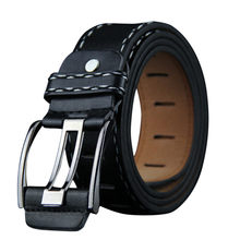 Fashion Mens Casual Pu Leather Belt High Quality Vintage Retro Buckle Belt New Design Solid Multicolor Belts Drop Shipping(China)