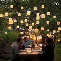 Lampa słoneczna regulowany elastyczny nadmuchiwany odkryty Camping kryty składany kwadrat wodoodporne światło led turystyka podróż awaryjne w Lampy solarne od Lampy i oświetlenie na