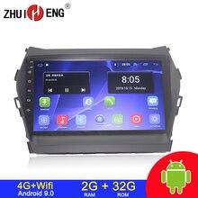 Автомагнитола 2 din, Android 9,1, 4G, Wi Fi, для Hyundai IX45, SANTA FE 2013, автомобильный dvd плеер, автомагнитола, стерео, автомобильное радио 2 ГБ, 32 ГБ