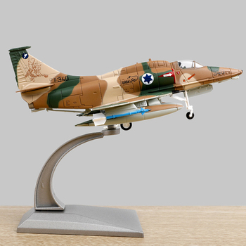 1:72 Alloy Fighter Toy Plane Model A-4 Fighter Air Force Fighter Metal Aircraft Airplane Models Adult Children Toy Display Show фото