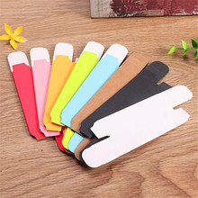 Kraft Paper Jewelry Box Multifunction Colorful Foldable Small Gift Packing Paper Box Lip balm Jewelry Box New Arrival