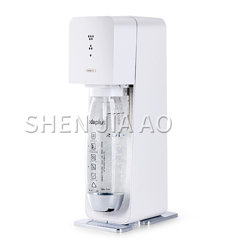 Soda Water Bubble Water Machine Homemade Carbonated Drinks Tea Shop Commercial Cola Machine MH-002 Household Soda Beverage Maker