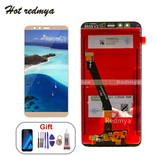 Display For Huawei Honor 9 lite lCD Frame For Huawei Honor 9 Youth Edtion Touch screen Digitizer Assembly LLD-L31 with Free Tool for huawei u9508 honor 2 lcd screen display with black touch screen digitizer frame assembly by free shipping 100% warranty