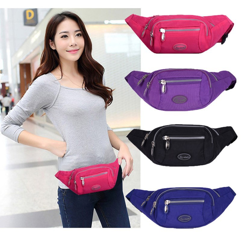 Travel Men Wallet Women's 2018 New Style Fashion And Personality Fashionable Hiking High Cross-body Shoulder Ultra-Light Childre