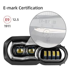 Image 3 - Assemblage complet de phares pour motos, feux daventure, feux daventure, pour BMW F800GS, F800R, F700GS, F650GS, projecteur LED