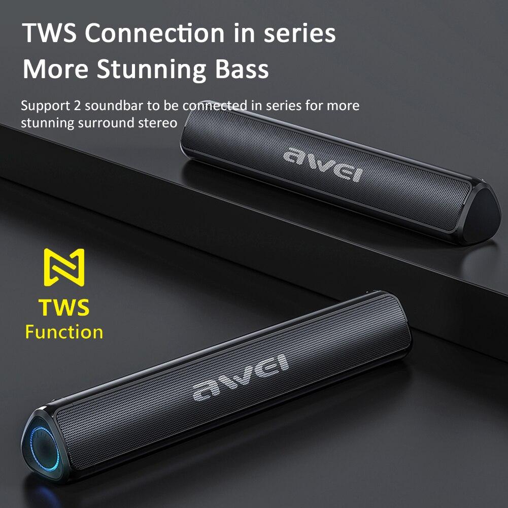Awei Y333 Portable Bluetooth Speaker 6