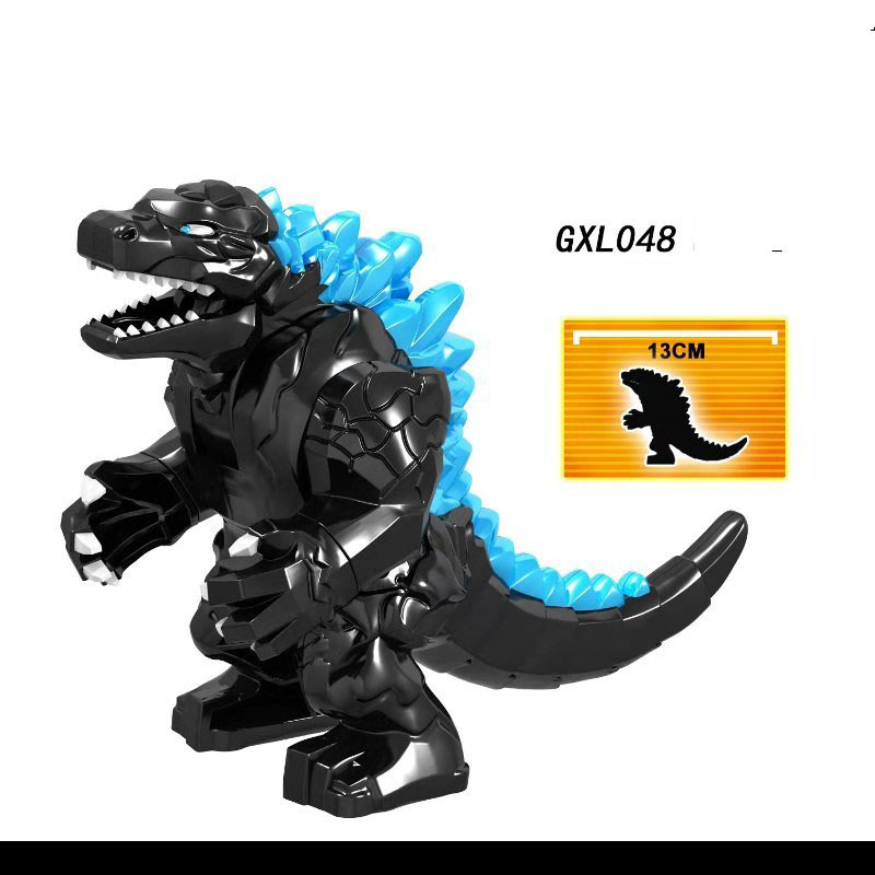 Single Sale LegoINGlys Movie Character Red Lotus Mutant Dinosaur Figures Building Blocks Bricks Diy Toys For Boy Children Gifts