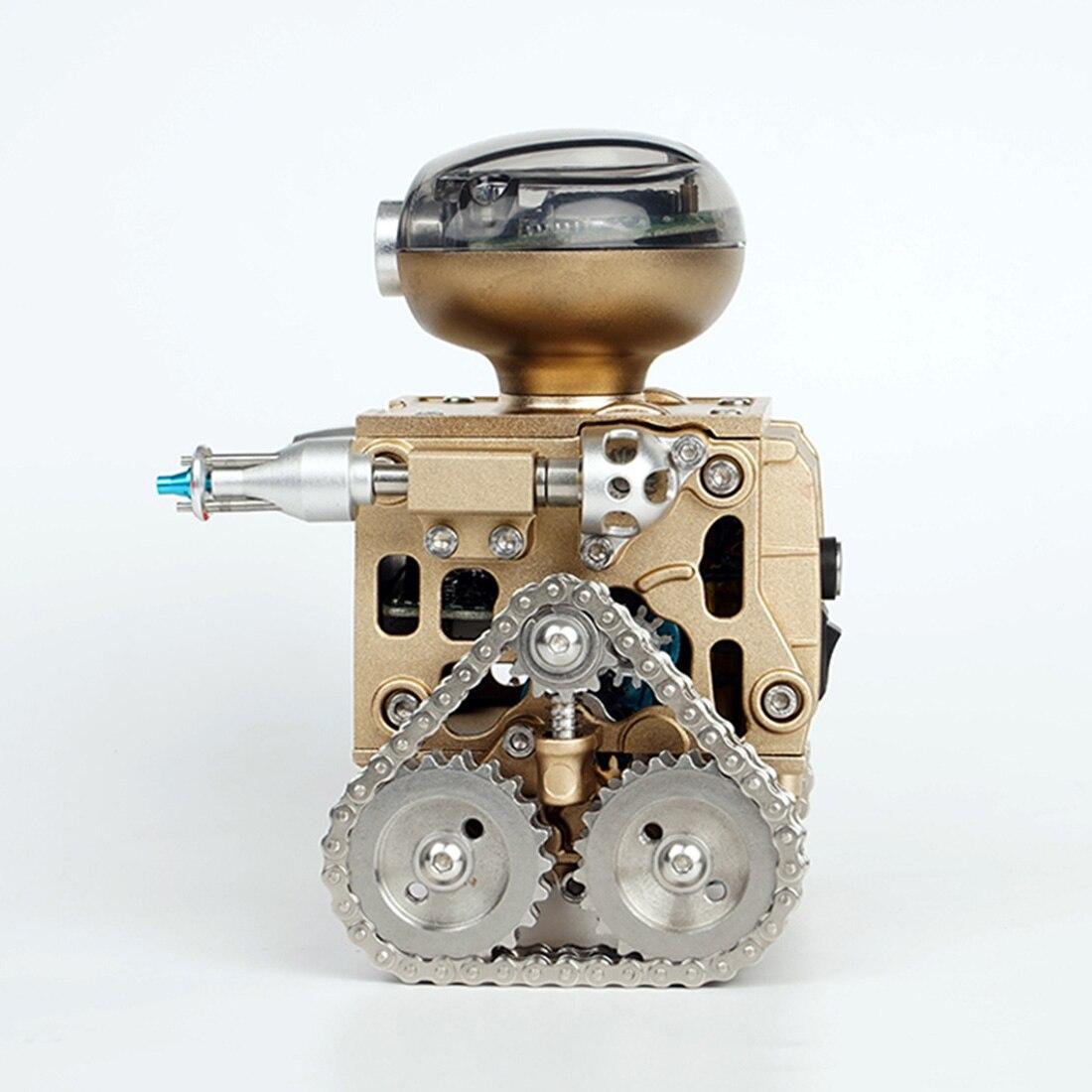 DIY Metall Intelligente Fernbedienung Smart Roboter Montage Pädagogische Modell Gebäude Spielzeug Geburtstag Geschenk für Junge Über 10 - 5