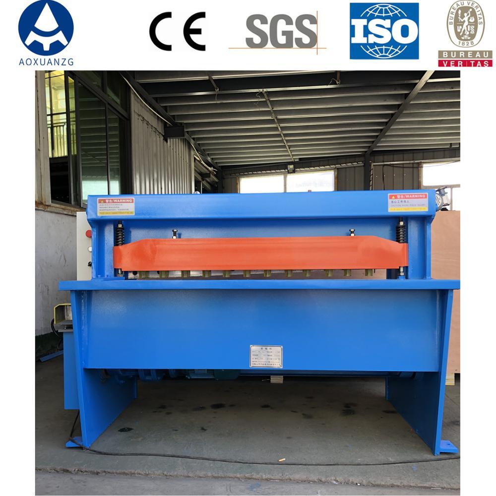 Cisaille automatique électrique de haute qualité, fabricant chinois, machine automatisée pour couper la tôle