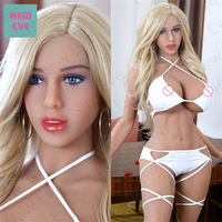 Silicone Sex Doll With Fat Ass Big Tits Realistic Vagina, Young Hispanic Love Doll With Metal Skeleton, American Blonde