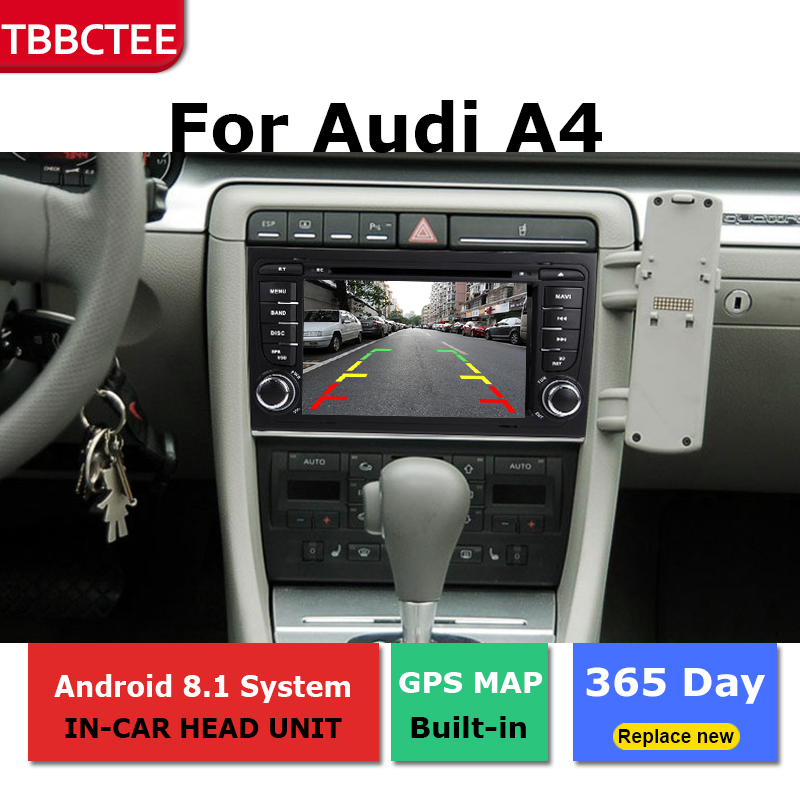ndroid radio bluetooth GPS Navigation wifi Stereo video For <font><b>Audi</b></font> <font><b>A4</b></font> <font><b>B6</b></font> 2000-2007 Car <font><b>Multimedia</b></font> Player image