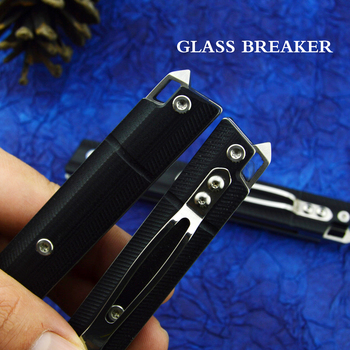 FORESAIL Folding Knife DC53(A8)Steel and 5 6