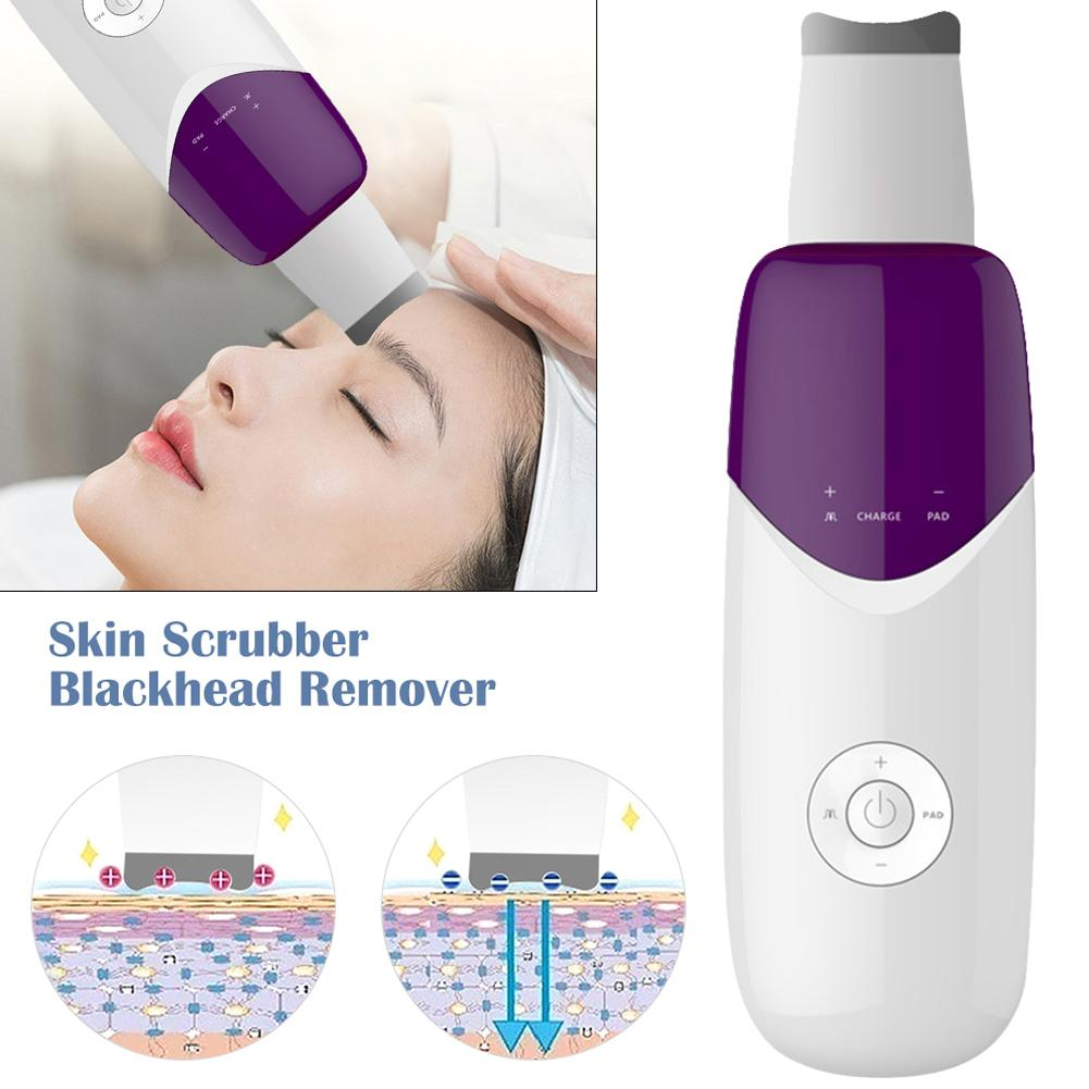 Clean Blackheads Acne Horny Dead Skin Sonic Scrubber Firm Skin Reduce Wrinkles And Fine Lines Skin Cleaner Beauty Tool