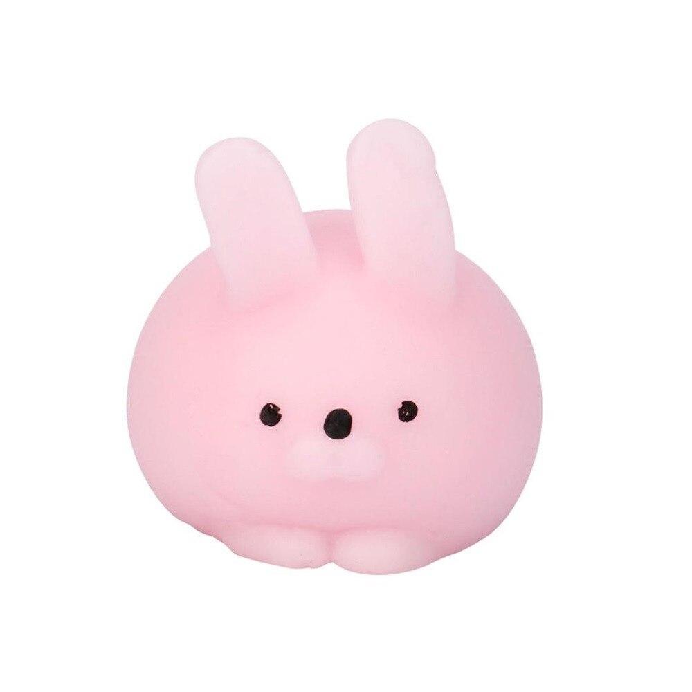 Squishy Anti-stress Tricks Toy Kids Cute Squishy Mini Fat Rabbit Healing Squeeze Abreact Fun Joke Gift Rising Toys  L1227