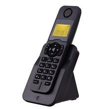 Rozszerzalny telefon bezprzewodowy telefon z wyświetlaczem LCD identyfikacja dzwoniącego połączenia głośnomówiące połączenie konferencyjne 16 języków dla domu biurowego