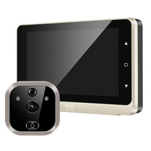 5 Inch 720P 5000mah battery Visual Doorbell Peephole Video d