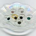 Богемные ювелирные изделия ручной работы, подарок, кольца с натуральным кристаллом для женщин, очаровательные Регулируемые кольца для дня ...