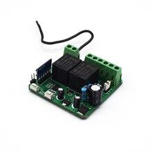 SOMFY 433.42mhz remote garage command Handheld transmitter Wire Control receiver for SOMFY 12V / 24V AC DC garage gate door