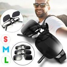 Размеры s, m, l, поляризованные солнцезащитные очки с зажимом для рыбалки, очки для рыбалки, легкие спортивные очки с зажимом, зажимы для линз, Аксессуары для рыбалки