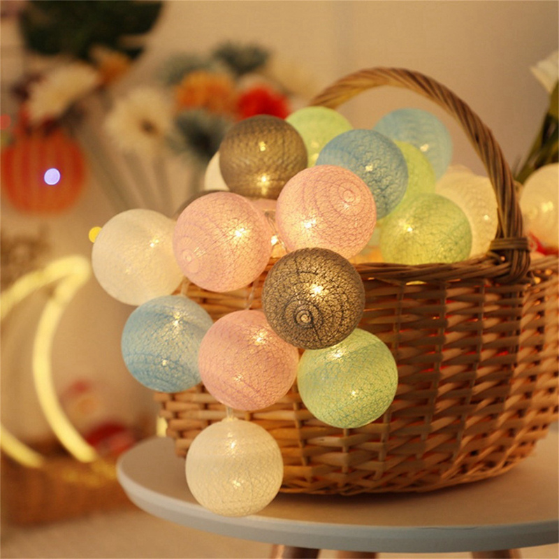2m, 20 luzes led para decoração, festas