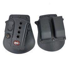 Caça glock 17/19 caso pistola tático rh pistola & revista pá coldre militar g17 glock acessórios