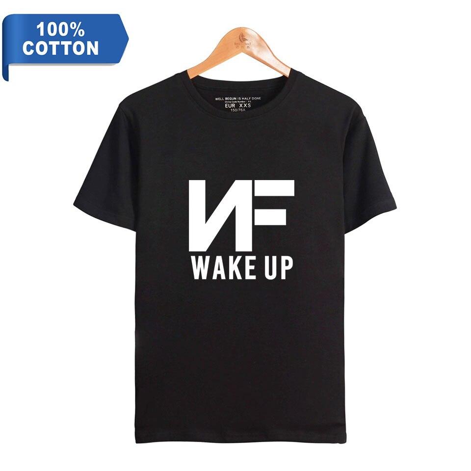 Music NF Perception Hip Hop Cool Fashion short-sleeved T-shirt Women/men loose summer O-neck Tshirt Plus Size Summer Printed Tee