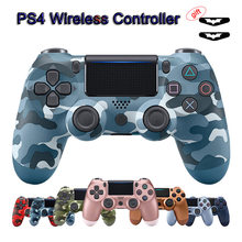 Para dualshock 4 ps4 gamepad controlador sem fio bluetooth android joystick para o telefone para playstation 4 controlador ps3 pc