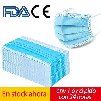 маски для лица и оральные нетканые пылезащитные антибактериальные маски 1